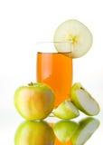 Apple And Juice Stock Photos