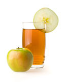Apple And Juice Royalty Free Stock Photography