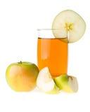 Apple And Juice Stock Photo