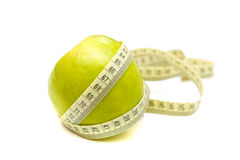 Free Apple And Measure Stock Images - 10389774