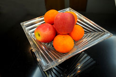 Apple And Orange Royalty Free Stock Photography