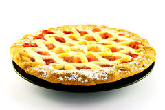 Apple And Strawberry Pie Royalty Free Stock Images
