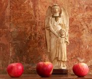 Apple angel 01 Stock Photo
