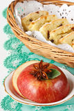 Apple with anise. Stock Images