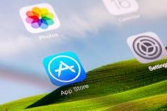 Apple-Anwendungs-Speicher Stockfoto