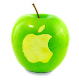 Apple on Apple Royalty Free Stock Photography