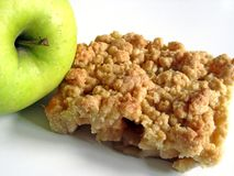 Apple & apple cake Royalty Free Stock Photography