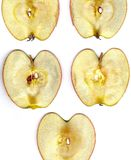 Apple, Apple Slice, Disc, Nuclear Stock Photo