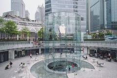 Apple armazena em Shanghai, China fotos de stock royalty free