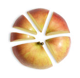 Apple as business diagram Royalty Free Stock Image