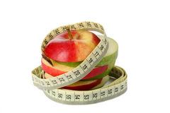 Apple as dietary meal Royalty Free Stock Photos