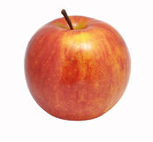 Apple auf einem weißen Hintergrund Stockbild
