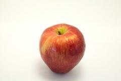 Apple auf weißem Hintergrund Stockfotos