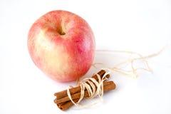 Apple avec de la cannelle Photographie stock libre de droits