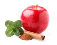 Apple avec des épices Image stock