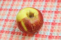 Apple avec la peau froissée Photos stock