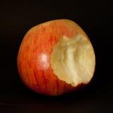 Apple avec un dégagement image stock