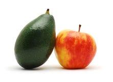 Apple and avocado Stock Photos