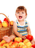 Apple baby Royalty Free Stock Photos