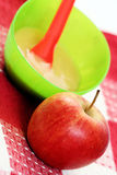 Apple for baby Royalty Free Stock Photo