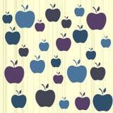 Apple background Stock Image