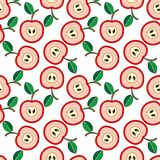 Apple background Stock Photography