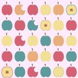 Apple background stock illustration