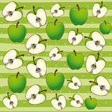 Apple background Royalty Free Stock Images