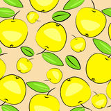 Apple background. fruit seamless texture Stock Image