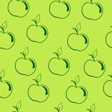 Apple background� Royalty Free Stock Image