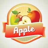 Apple badge Imagen de archivo