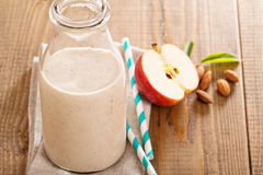 Apple Banana Cinnamon Smoothie Stock Photos
