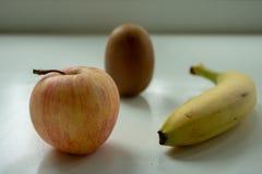 Fruit on a table stock photos