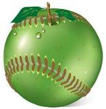 Apple baseball Royalty Free Stock Photography
