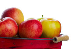 Apple Basket Royalty Free Stock Photography