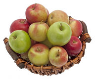 Apple basket Stock Image
