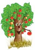 Apple-Baum vektor abbildung