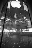 Apple , beautifull staircase Stock Image