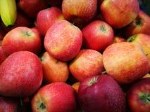 Apple bij Landbouwers` s Markt Stock Foto