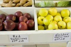 Apple bins Stock Photography