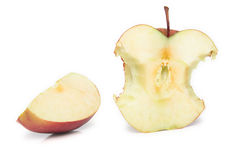 Apple bit Stock Image
