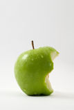 Apple Bite Royalty Free Stock Photo
