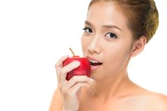Apple bite Royalty Free Stock Photos