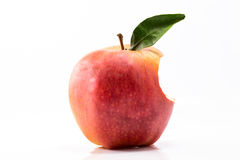 Apple bitten Royalty Free Stock Images