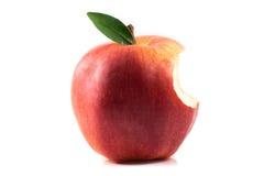 Apple bitten Stock Photography