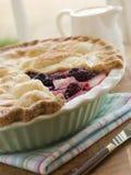 apple blackberry hot pie Στοκ φωτογραφία με δικαίωμα ελεύθερης χρήσης