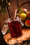 Apple & Blackberry Jam Royalty Free Stock Photo