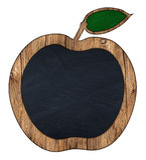 Apple blackboard Royalty Free Stock Photo