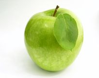 Apple - Blatt Stockfotos
