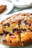 Apple and Blueberry Cake Royalty Free Stock Photography